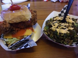 Cluck'N'Burger Brussel Sprouts