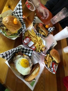 Dinner at Cluck'N'Burger